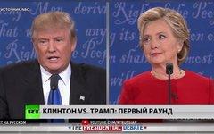 Трамп vs Клинтон