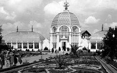 Павильон «Цветоводство». Автор Н. Грановский. Май 1958 года