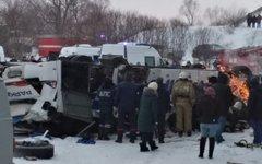 Падение автобуса в Забайкалье