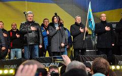 Митинг против капитуляции в Киеве