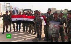 Российские военные вошли в Ракку