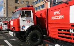 Пожарные машины © KM.RU