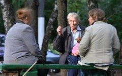 Пенсионеры © KM.RU, Илья Шабардин