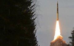 Пуск баллистической ракеты