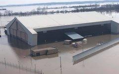 Наводнение на авиабазе Оффатт