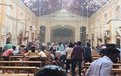 Взрыв в церкви на Шри-Ланке
