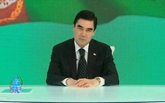 Туркменский президент зачитал с внуком рэп о реальном коне