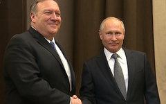 Путин и Помпео