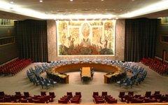 Зал заседаний Совбеза ООН