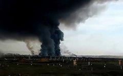 Взрыв на военном полигоне под Архангельском