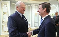 Встреча Александра Лукашенко с Госсекретарем США Дэвидом Хэйлом