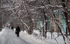 Снегопад в Москве © KM.RU, Кирилл Зыков