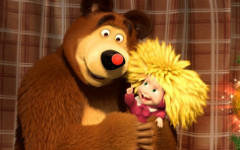Мультфильм «Маша и Медведь» выйдет в прокат в Великобритании