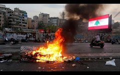 Акции протеста в Бейруте