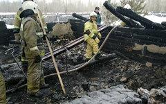 Пожар в общежитии в Томской области