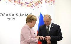 Встреча с канцлером Германии Ангелой Меркель © KM.RU, Пресс-служба Кремля