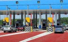 Пункт оплаты платной автодороги