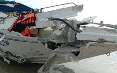 Столкновение катеров в Таиланде