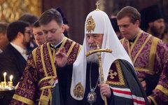 Божественная литургия в храме Христа Спасителя © KM.RU, Кирилл Зыков