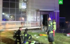 Пожар в доме престарелых в Москве