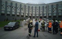 Пожар в больнице Святого Георгия в Петербурге
