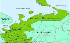 Архангельская область и Ненецкий автономный округ