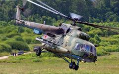 Вертолет Ми-8 ВКС Минобороны РФ