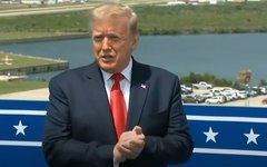 Дональд Трамп © KM.RU, Стоп-кадр видео