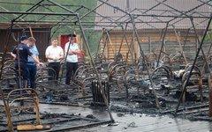 Пожар в детском лагере Холдоми