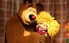 Сериал «Маша и Медведь» попал в топ-5 мировых брендов