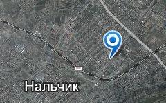 Нальчик. Спутниковое фото сервиса «Яндекс.Карты»