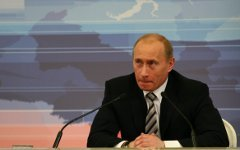 Владимир Путин. Фото сайта KM.RU