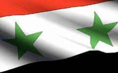 Флаг Сирии. Фото с сайта footage.shutterstock.com