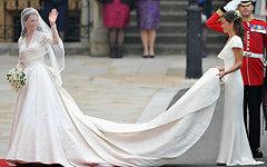 Свадебное платье Кейт Миддлтон посмотрело более полумиллиона туристов