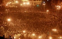 Беспорядки на площади Тахрир в Египте