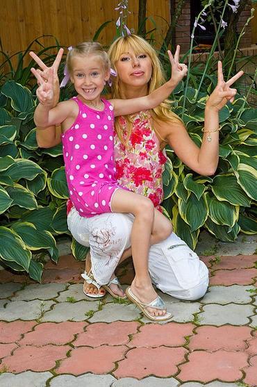 апина алёна и ее дочь фото