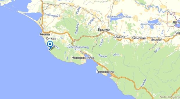 Найдя санаторий на интерактивной карте, вы узнаете, что санаторий находится на центральной набережной города