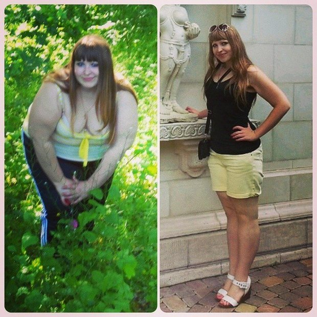 похудеть на 70 кг за месяц