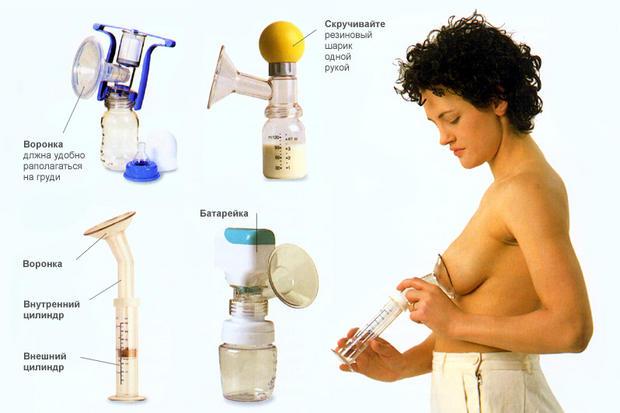 Фото как сцеживать молоко руками