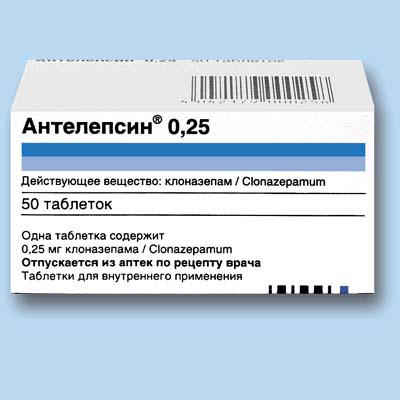Antelepsin 1 mg