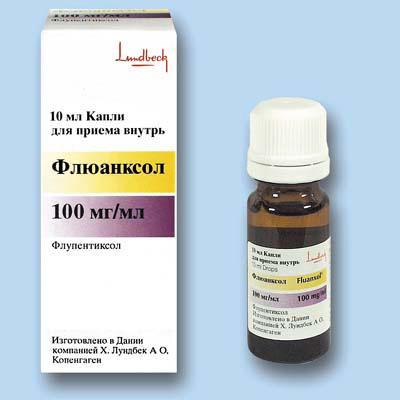 флюанксол через какое время возникает терапевтический эффект как антидепрессанта