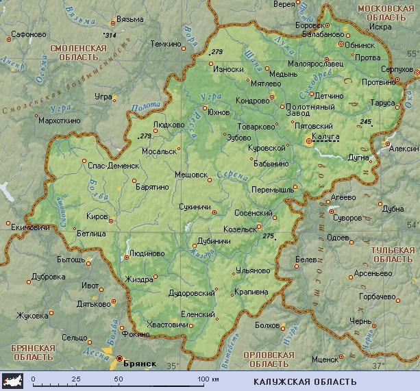 Карта Тарусы Скачать - фото 9