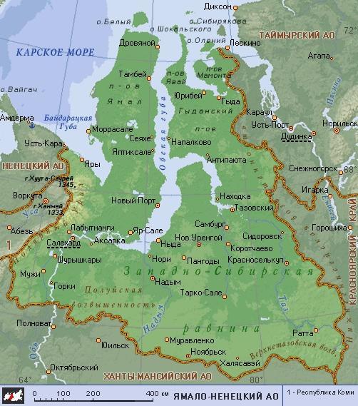 АО (географическая карта).