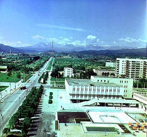 Нальчик. Панорама города.